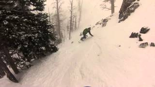 Next To Broken Branch Jackson Hole Backcountry Snowboarding Thumbnail