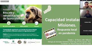 Rescate y Rehabilitación de Fauna Silvestre  - Jornada 1