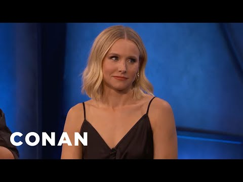 Kristen Bell Went Through Her Neighbor's Trash Cans - CONAN on TBS