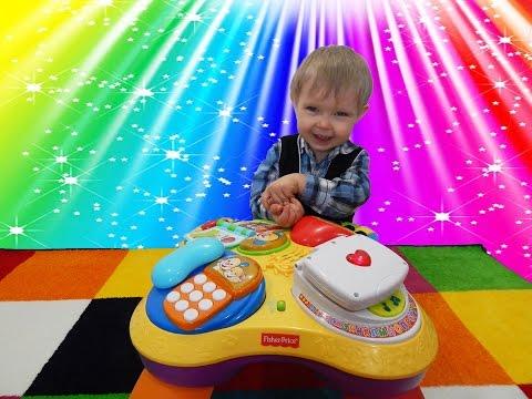 Развивающий центр для детей Весселая игрушка Fisher Price игровой столик