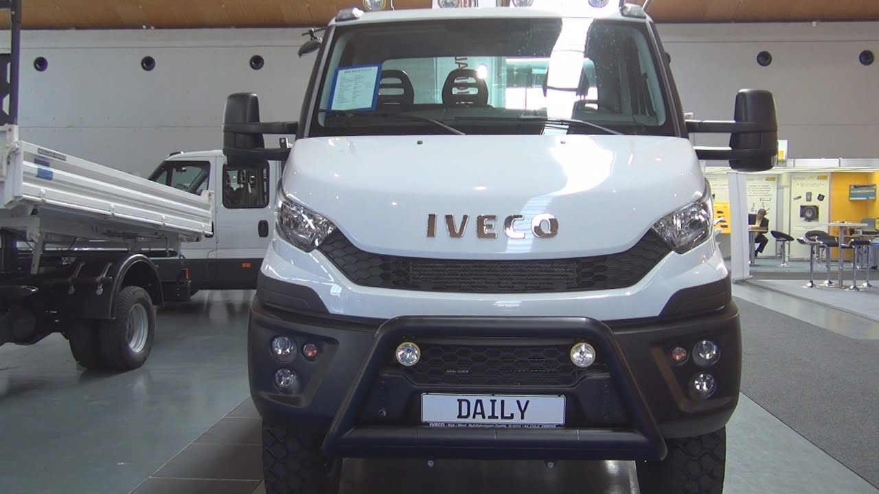 Iveco Daily 55 S 17 H W 4x4 2016 Exterior And Interior