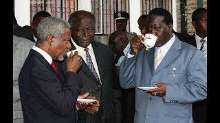 """I will not leave Kenya until peace is found,"" Kofi Annan (2007)"