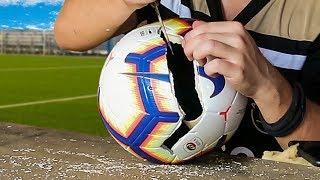 Cosa c'è all'interno del pallone della Serie A?