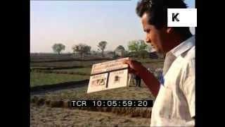 1970 India, Tamil Nadu, Farming, 1960s, 1970s Colour 35mm Archive Footage
