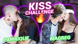 DESAFIO DO BEIJO | KISS CHALLENGE 🔥 (PART 2) ft. Maria Venture, Gregory Kessey e Henrique Lima
