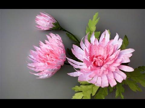 abctvcraft paperflower