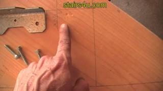 How To Position Angle Brackets On Stair Stringer