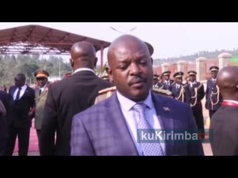 Uku niko Urugendi rwa Prezida Pierre Nkurunziza muri Tanzania rwagenze