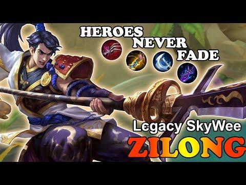 Heroes Never Fade [Lєgacy SkyWee] Rank 2 global Zilong gameplay mobile legends
