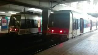 RER B : annonce sonore de l'approche de l'aéroport Charles de Gaulle