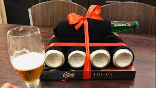 Подарок ДЕДУШКЕ НА ДЕНЬ РОЖДЕНИЯ DIY / Танк из пива 12.06.20 НАША МАША ВЛОГ
