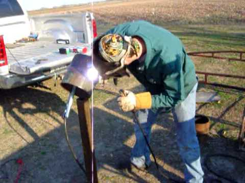 Pipe welding www.6gwelder.webs.com - YouTube