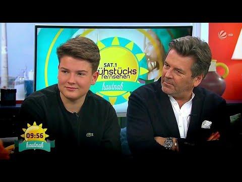 Thomas Anders mit Alexander - Frühstücksfernsehen (SAT1 HD, 02.11.2017)