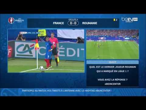 France vs roumanie 2-1 tous les buts exclusive bein sport