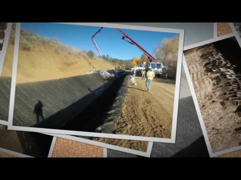 Geoweb Colorado Irrigation Canal Lining