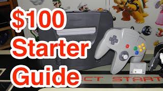 Nintendo 64: $100 Starter Guide - Part 1 | Nintendo Collecting