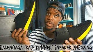 Balenciaga 'race runner' unboxing
