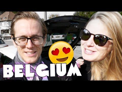 Belgium is Incredible! 🇧🇪🚘 Road Trip Belgium Day 1