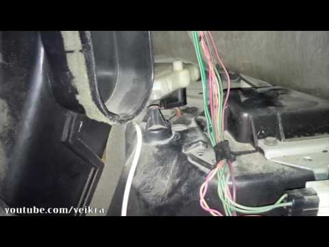 How to fix no heat or no a/c by bypassing crown victoria blend door actuator