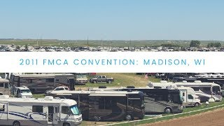 Motorhome Exhibits at FMCA Madison 2011 Convention