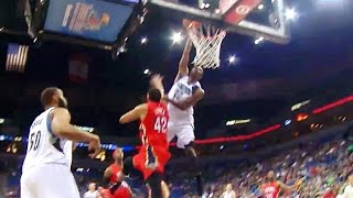 Andrew Wiggins missed the dunk of the year!