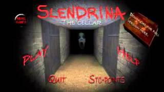 Slendrina- Primeiro vídeo aeeee