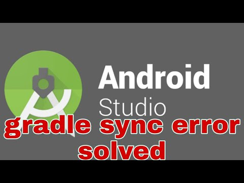 Gradle Sync Error In Android Studio | Solved