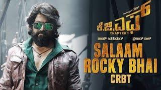 Salaam Rocky Bhai Full Video Song   KGF Kannada Movie   Yash   Prashanth Neel   Hombale Films   720p
