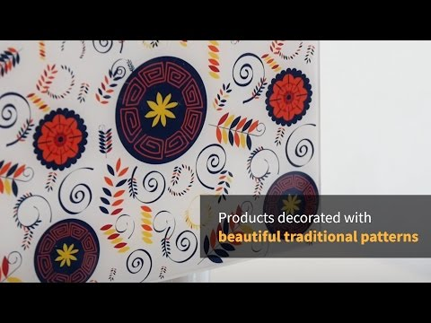 [Culture PD] Products decorated with beautiful traditional patterns