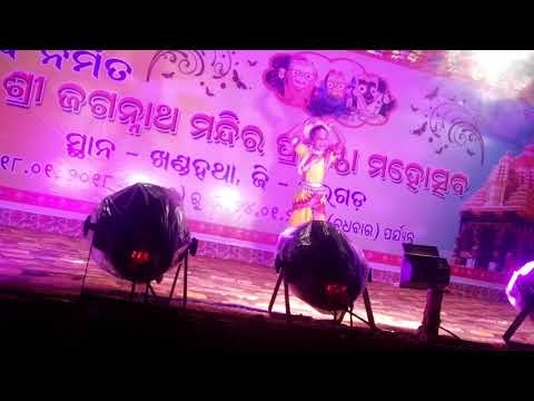 Mate kari de kala tulasi mohana bansi best dance perfomence by rashmita biswal DOD