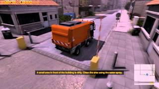 Street Cleaning Simulator Gameplay