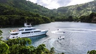 130' Westport for Charter in Caribbean and Bahamas