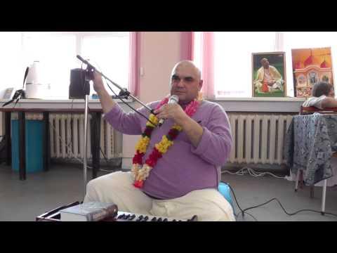 Девананда пандит - киртан и лекция (13.07.14 - Ижевск)