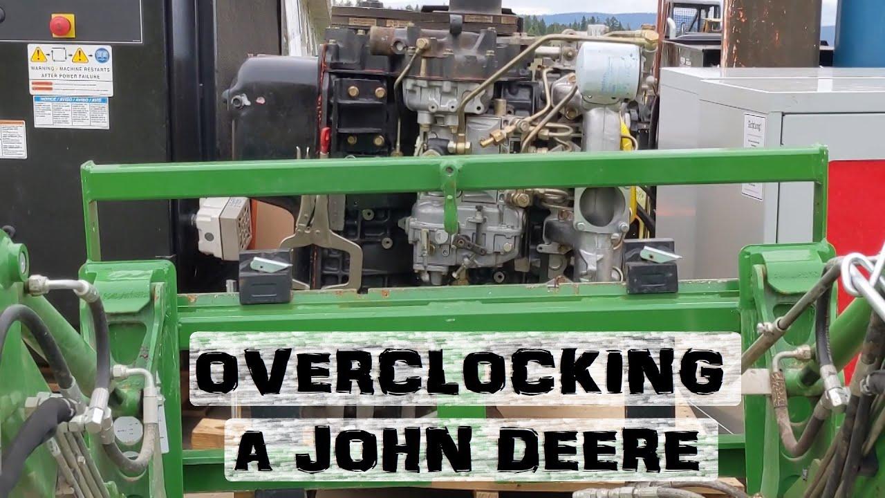 Tractor OVERCLOCKING | Hydraulic Trick
