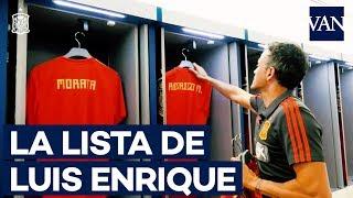 ⚽ La original lista de convocados de Luis Enrique
