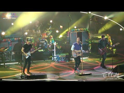 170416 Coldplay, 02. Yellow @ AHFOD Tour 2017 in Seoul, KOREA