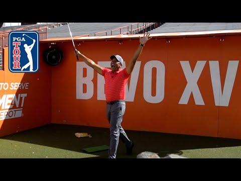 Trick Shots | Jhonattan Vegas & Colt McCoy at University of Texas