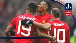 Manchester United 4-0 Reading - Emirates FA Cup 2016/17 (R3) | Goals & Highlights | FATV