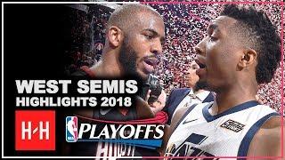Donovan Mitchell Full Series Highlights vs Houston Rockets | 2018 NBA Playoffs WSCF