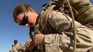 Webb speaks on women in military