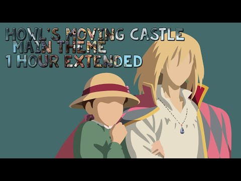 Howl's Moving Castle Main Theme(Merry Go Round Of Life) 1 Hour Extended