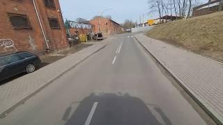Zastęp 309[N]61 OSP Olsztyn-Gutkowo Przejazd alarmowy do pożaru pustostanu!!!