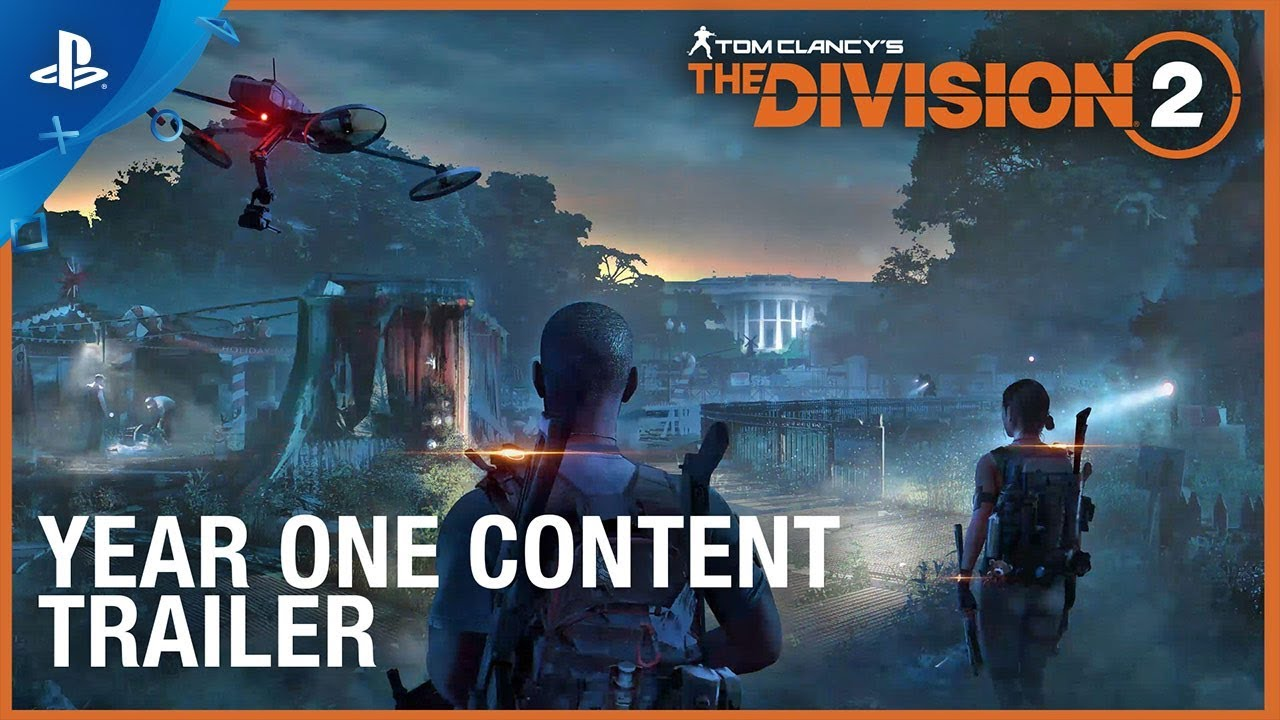 Tom Clancy's The Division 2 - Year One Trejler za sadržaj | PS4