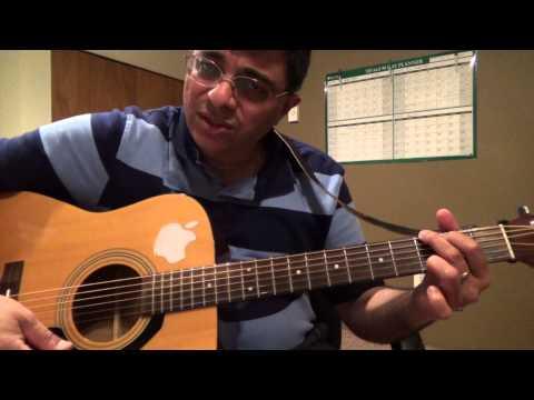Avalukkenna Azhyagiya Manam (MSV) tamil song guitar chord lesson by Suresh