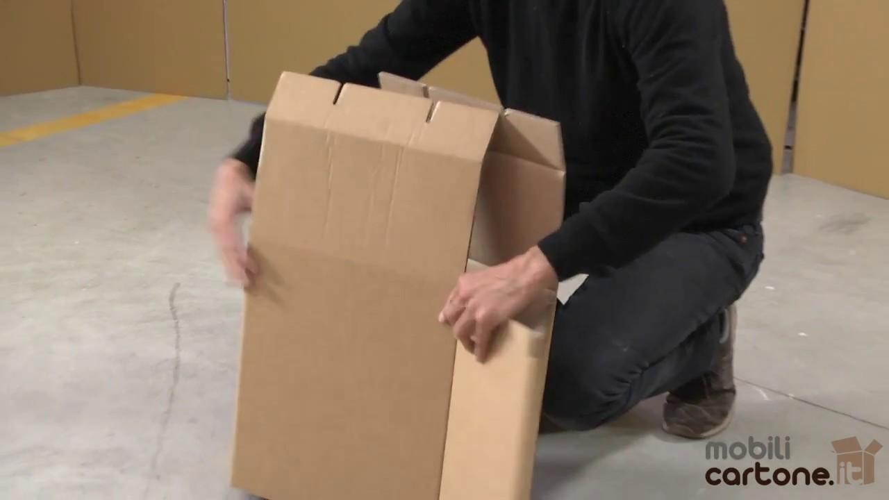 Istruzioni di montaggio sgabello pieghevole di mobili in cartone