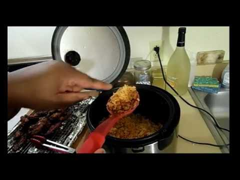 Arroz Con Gandules In A Rice Cooker