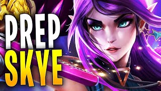 SKYE PREPARATION IS GOOD? | Paladins Gameplay
