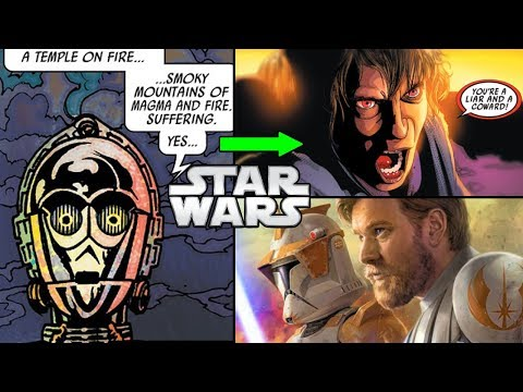 C-3PO REMEMBERS THE PREQUELS (CANON) - Star Wars Comics Explained