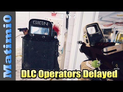 DLC Operators Delayed - Rainbow Six Siege