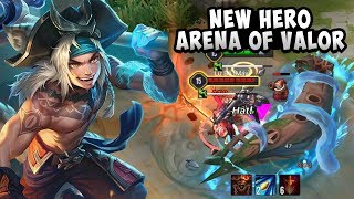 NEW HERO: Zhu Baije (ATAB) Gameplay + Skills | Arena of Valor | AOV | RoV | LienQuanMobile